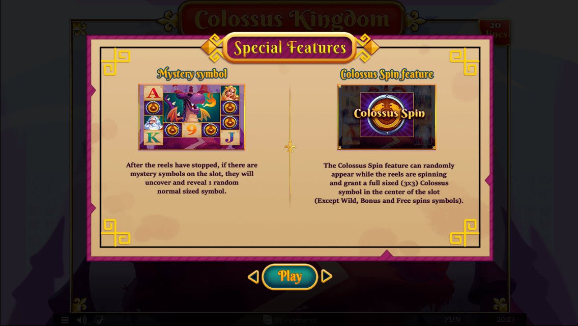 Colossus Kingdom :: Special Feature