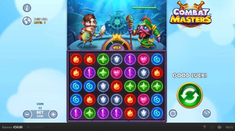 Combat Masters :: Main Game Board