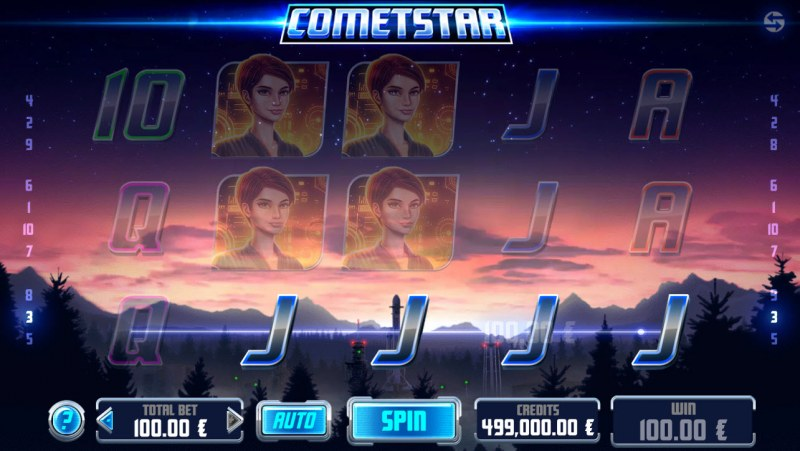 CometStar :: Game pays in both directions