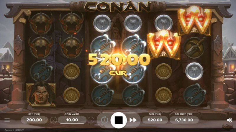Conan :: Game pays in both directions
