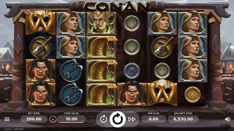 Play slots at Noxwin: Noxwin featuring the Video Slots Conan with a maximum payout of $200,000