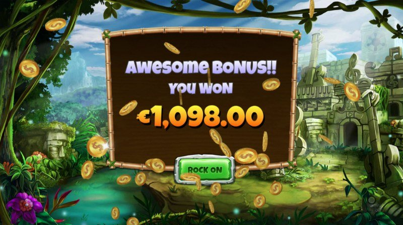 Congo Bongo :: Total free spins payout