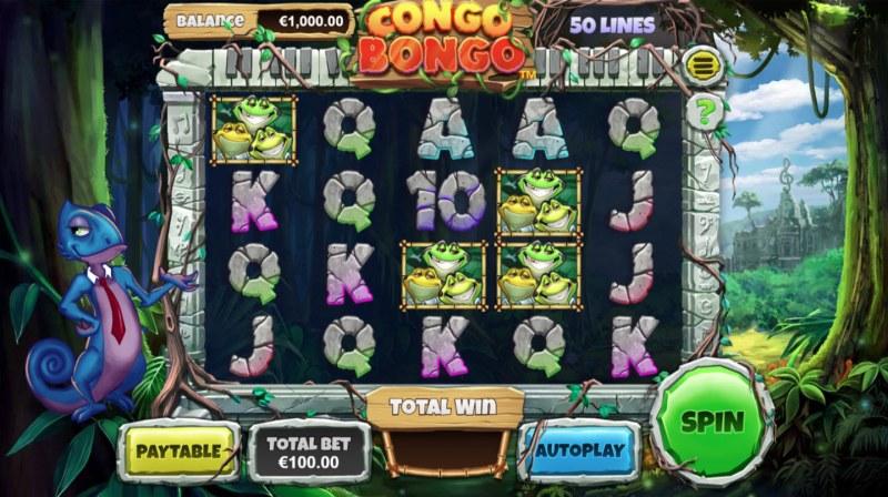 Congo Bongo :: Main Game Board