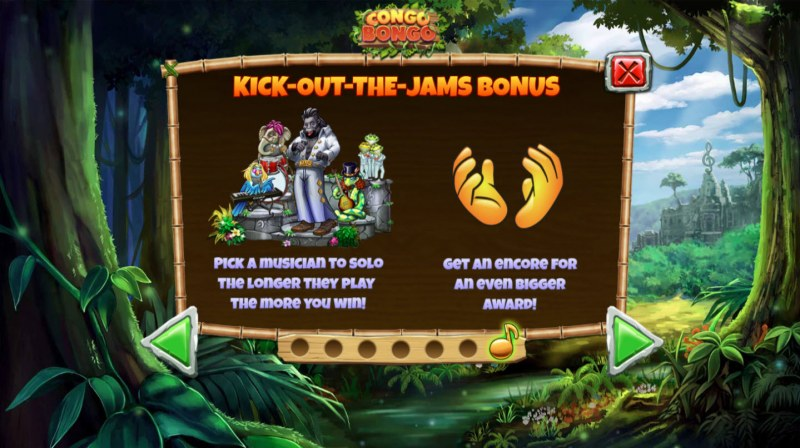 Congo Bongo :: Kick Out The Jams Bonus