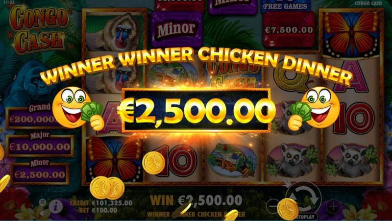 Congo Cash :: Big Win