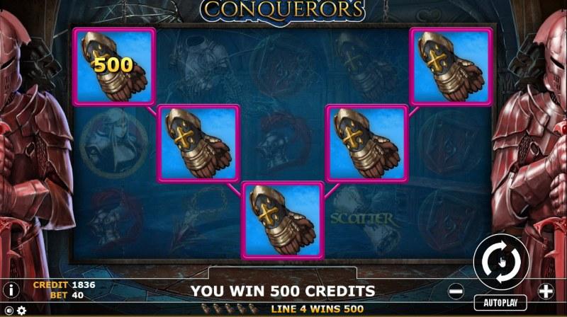 Conqueror :: Five of a kind