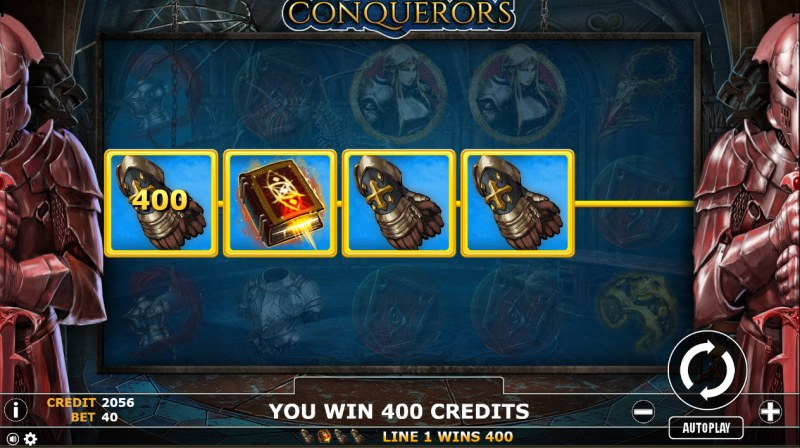 Conqueror :: A winning 4 of a kind