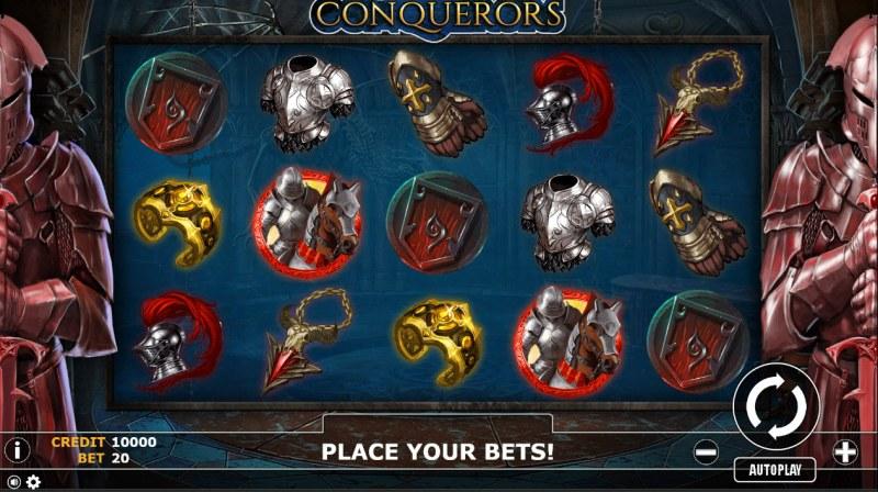 Conqueror :: Main Game Board