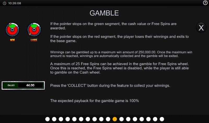 Cops N Robbers Megaways :: Gamble feature