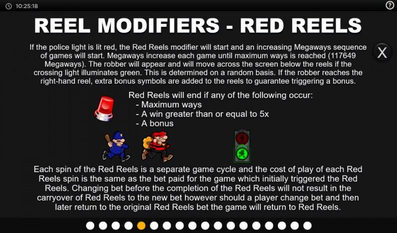 Cops N Robbers Megaways :: Reel Modifiers