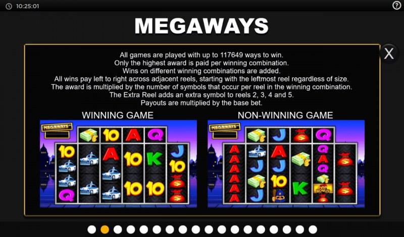 Cops N Robbers Megaways :: Megaways