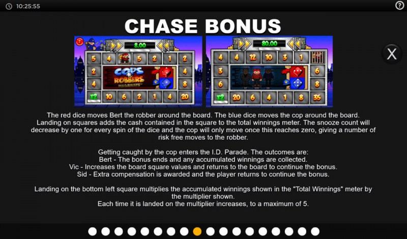 Cops N Robbers Megaways :: Chase Bonus