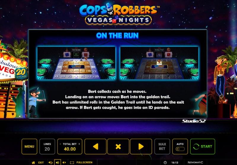 Cops & Robbers Vegas Nights :: Bonus Feature