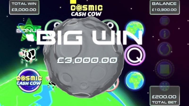 Cosmic Cash Cow :: Big Win