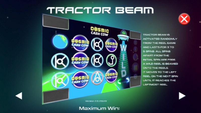 Cosmic Cash Cow :: Tractor Beam