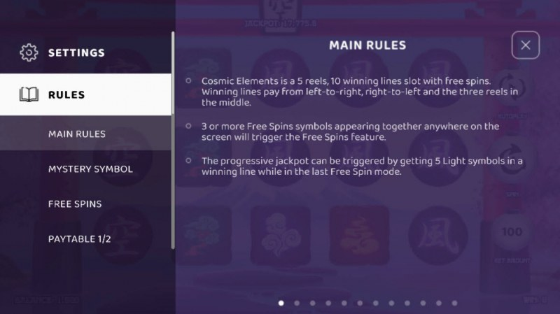 Cosmic Elements :: General Game Rules