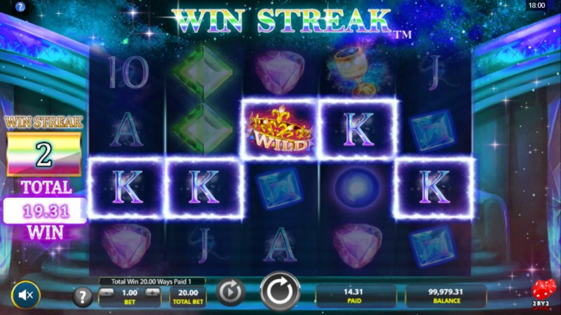 Cosmic Gems :: A five of a kind win