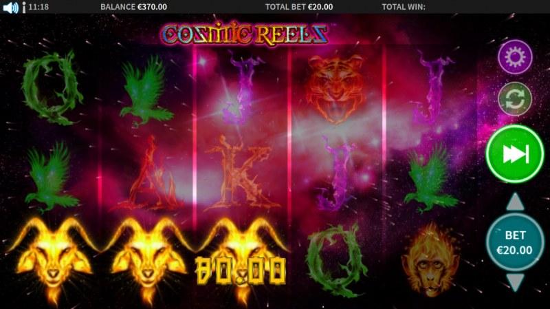 Cosmic Reels :: A winning 3 of a kind