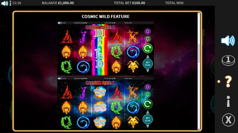 Cosmic Reels :: Cosmic Wild Feature