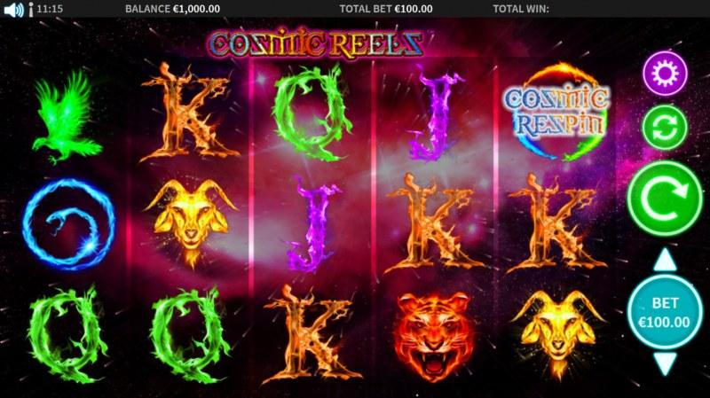 Cosmic Reels :: Main Game Board