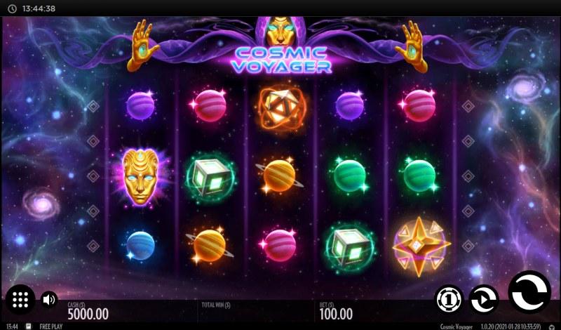 Cosmic Voyager :: Main Game Board