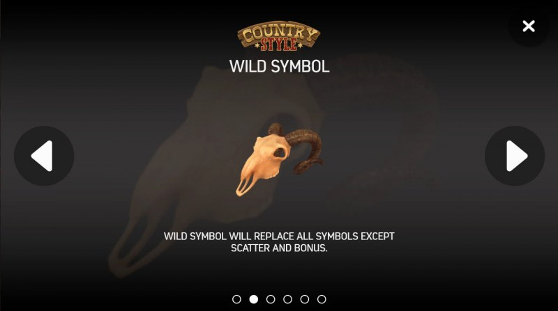 Country Style :: Wild Symbols Rules