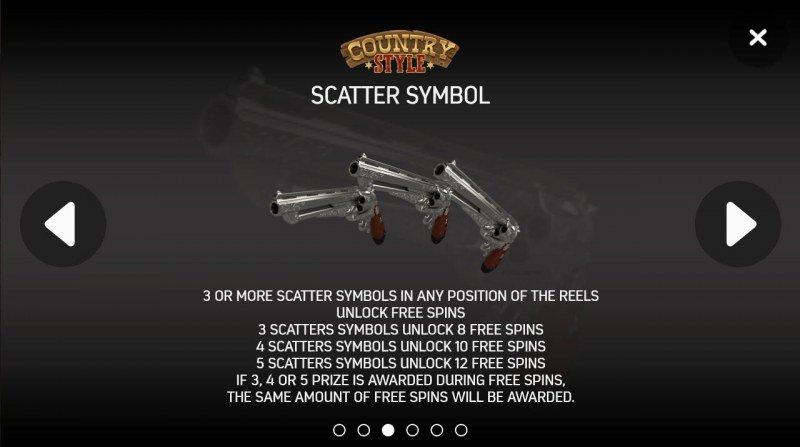 Country Style :: Scatter Symbol Rules