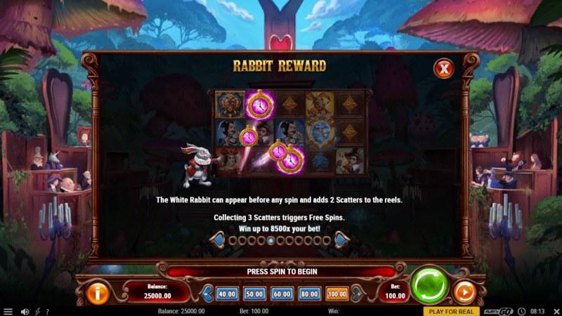 Court of Hearts :: Rabbit Reward