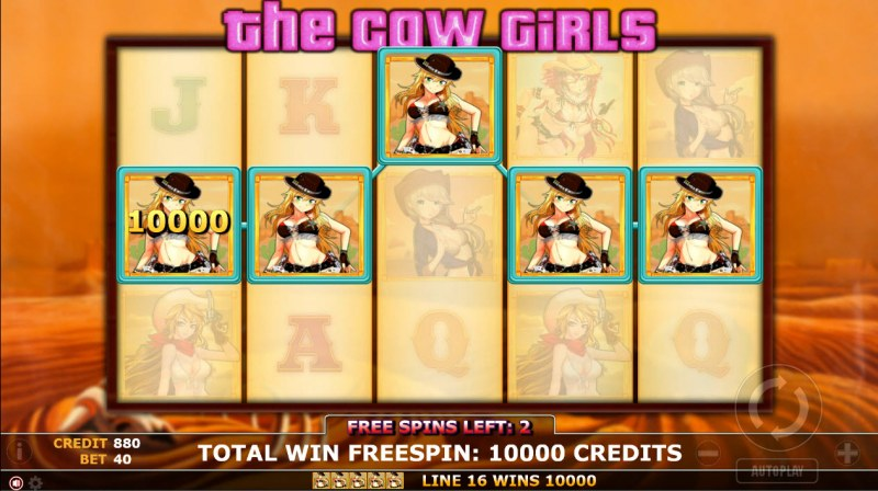 The Cow Girls :: Five of a kind