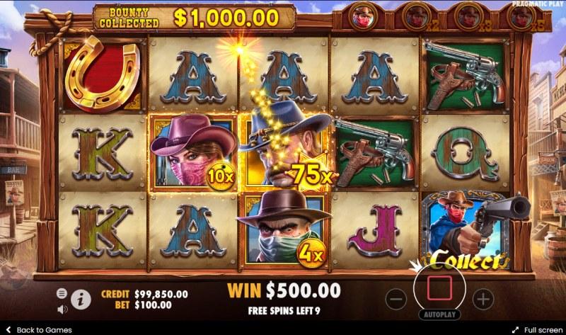 Cowboys Gold :: Money Collect
