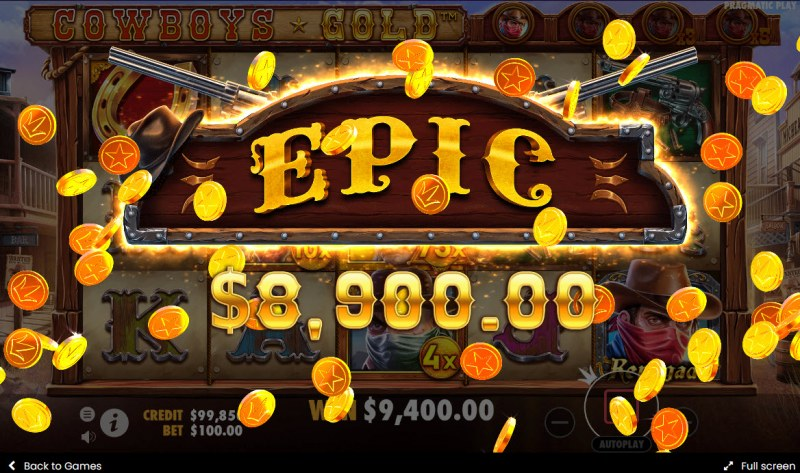 Cowboys Gold :: Epic Win