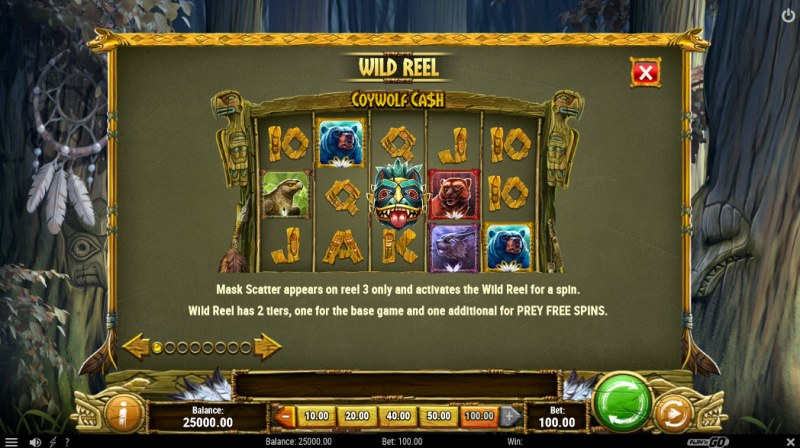 Coywolf Cash :: Wild Reel