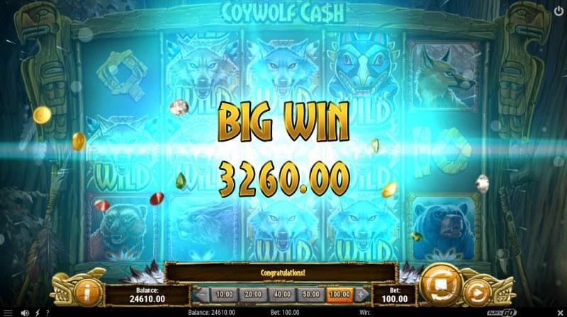 Coywolf Cash :: Big Win