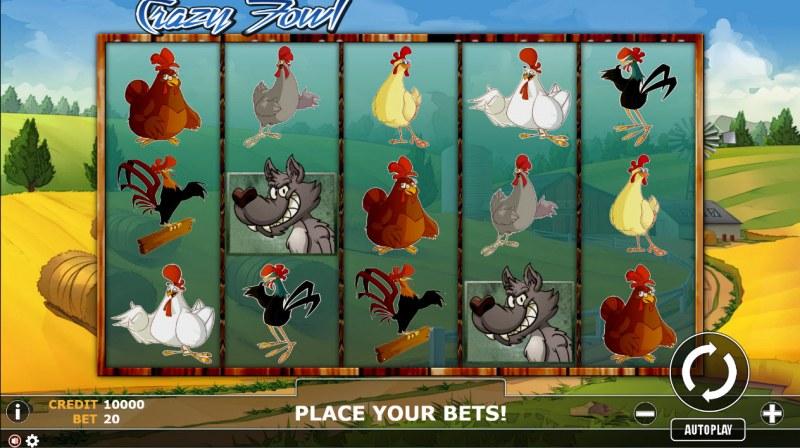 Crazy Fowl :: Main Game Board