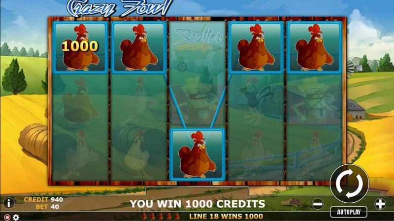 Crazy Fowl :: Five of a kind