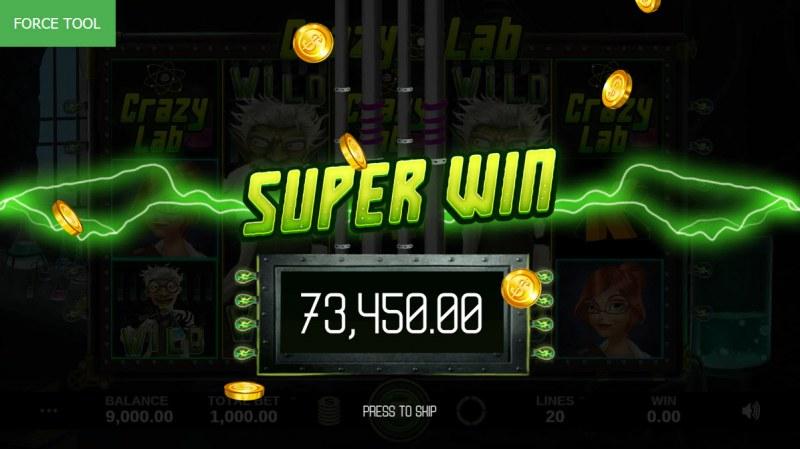 Crazy Lab :: Super Win