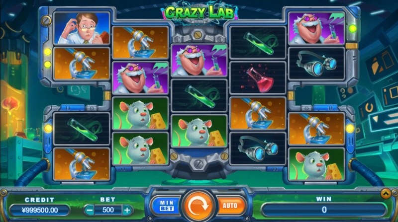 Crazy Lab :: Main Game Board