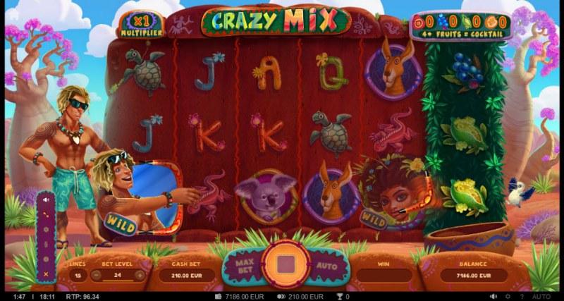 Crazy Mix :: Boomerang Respin triggered