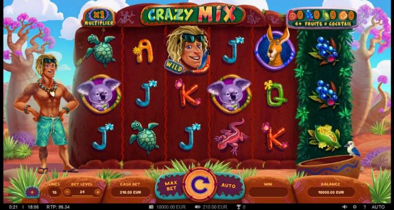 Crazy Mix :: Main Game Board
