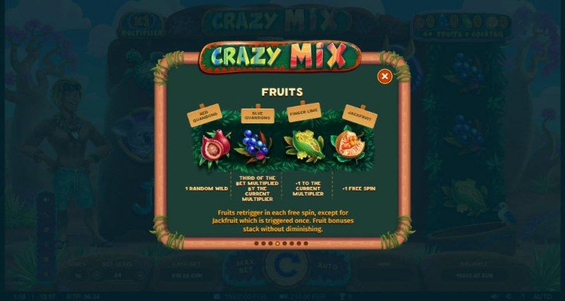Crazy Mix :: Feature Rules