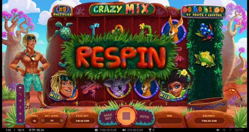 Crazy Mix :: Respin triggered