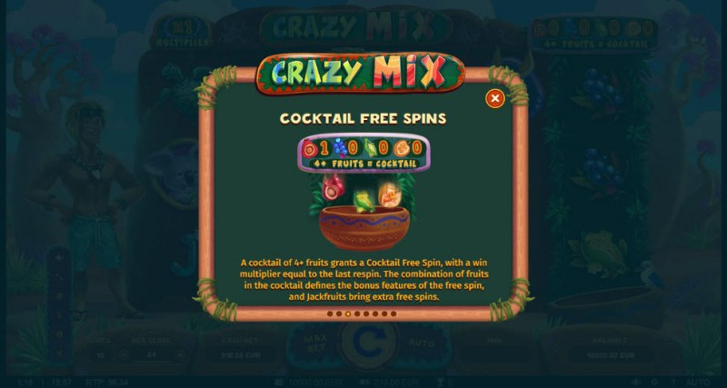 Crazy Mix :: Free Spins Rules
