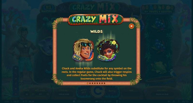 Crazy Mix :: Wild Symbols Rules