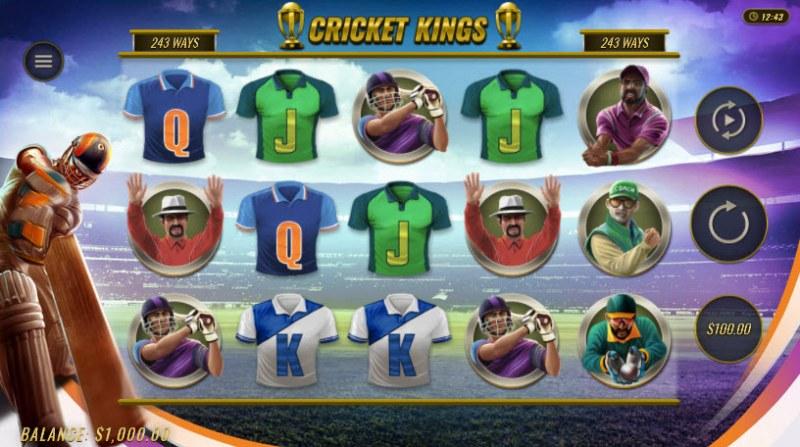 Cricket Kings :: Main Game Board