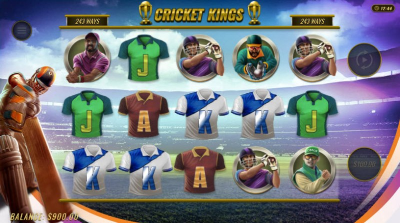 Cricket Kings :: Four of a kind Win