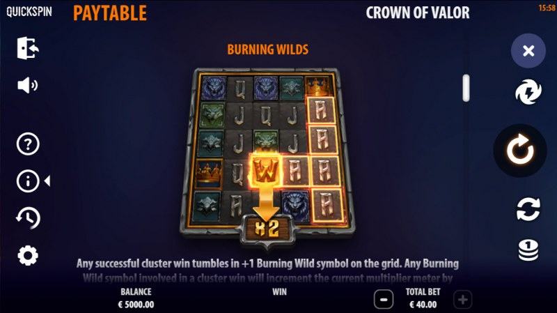 Crown of Valor :: Burning Wilds