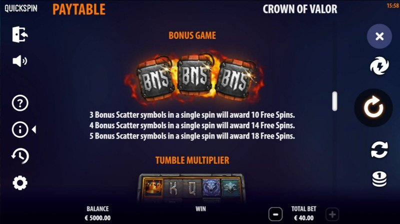 Crown of Valor :: Free Game Rules