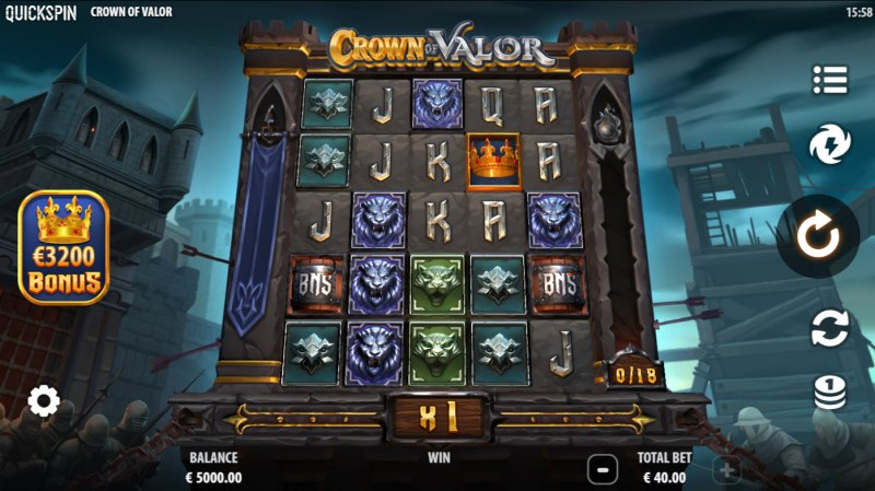Crown of Valor :: Main Game Board