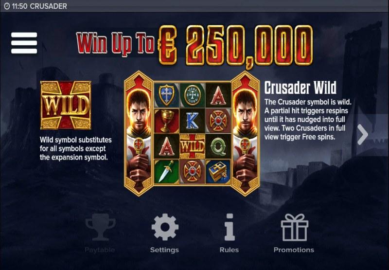 Crusader :: Win Up To $250,000