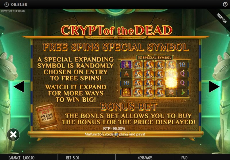 Crypt of the Dead :: Special Expanding Symbol
